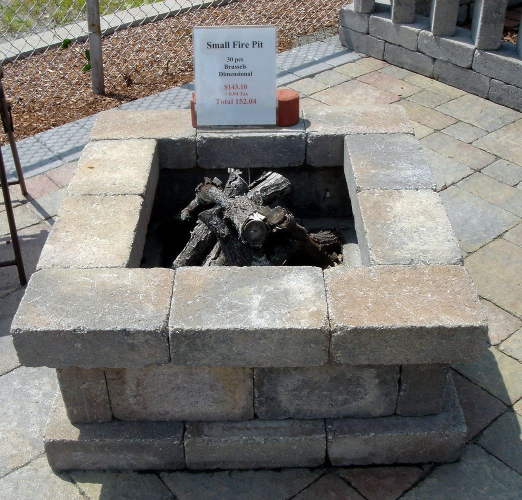 stone fire pit ace hardware | Cinder block fire pit ... on Ace Hardware Fire Pit  id=59811