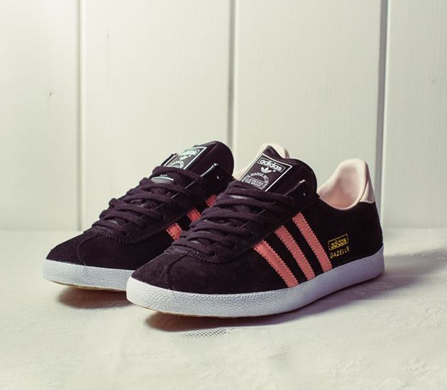 Trendy Women's Sneakers 2017/ 2018 : adidas Originals Gazelle – Black /  St-Desert Pink – St-Fade - Fashion Inspire | Fashion inspiration Magazine,  ...