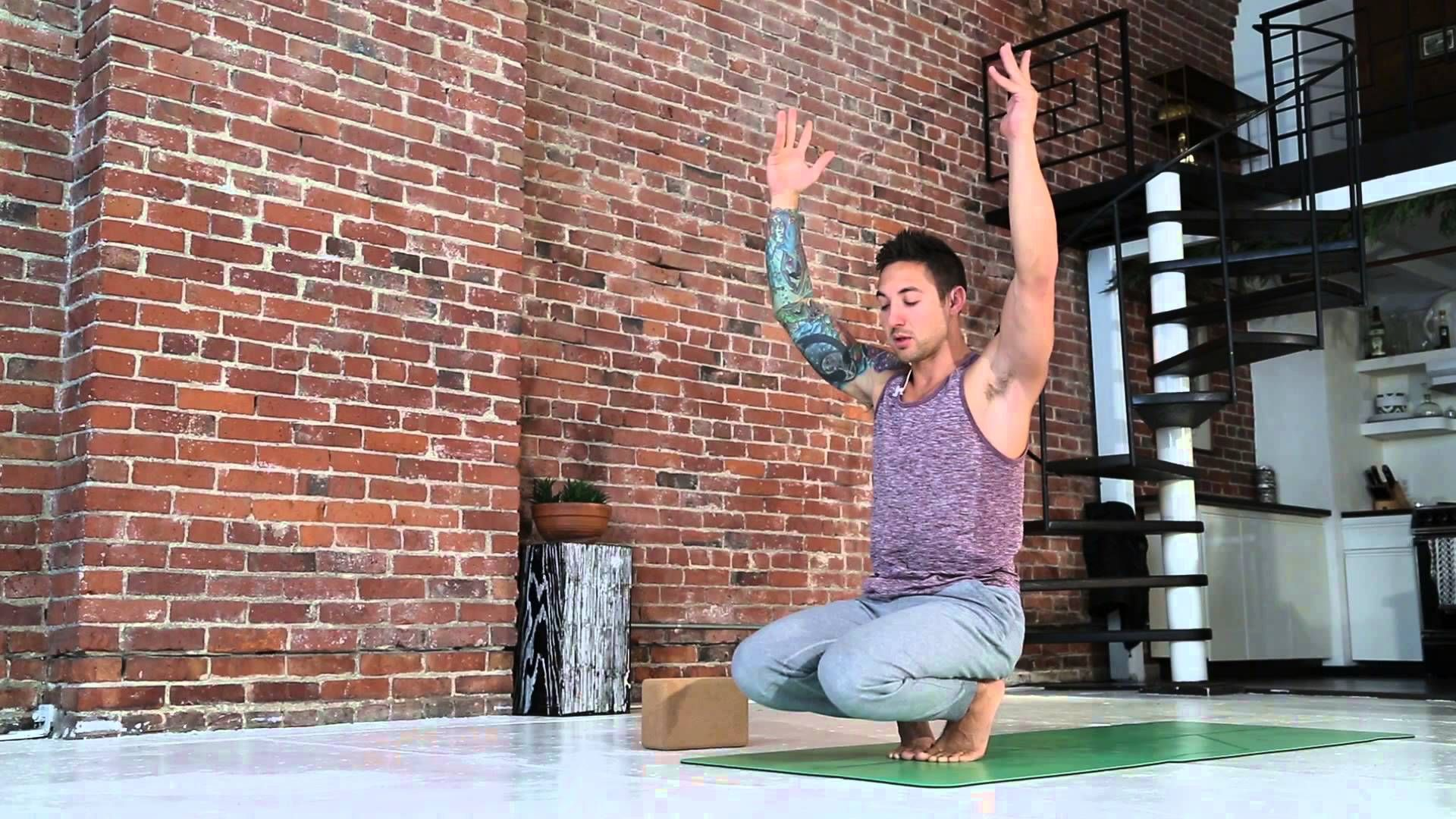 Chair Pose Yoga Flow for Beginners by Dylan Werner Yoga