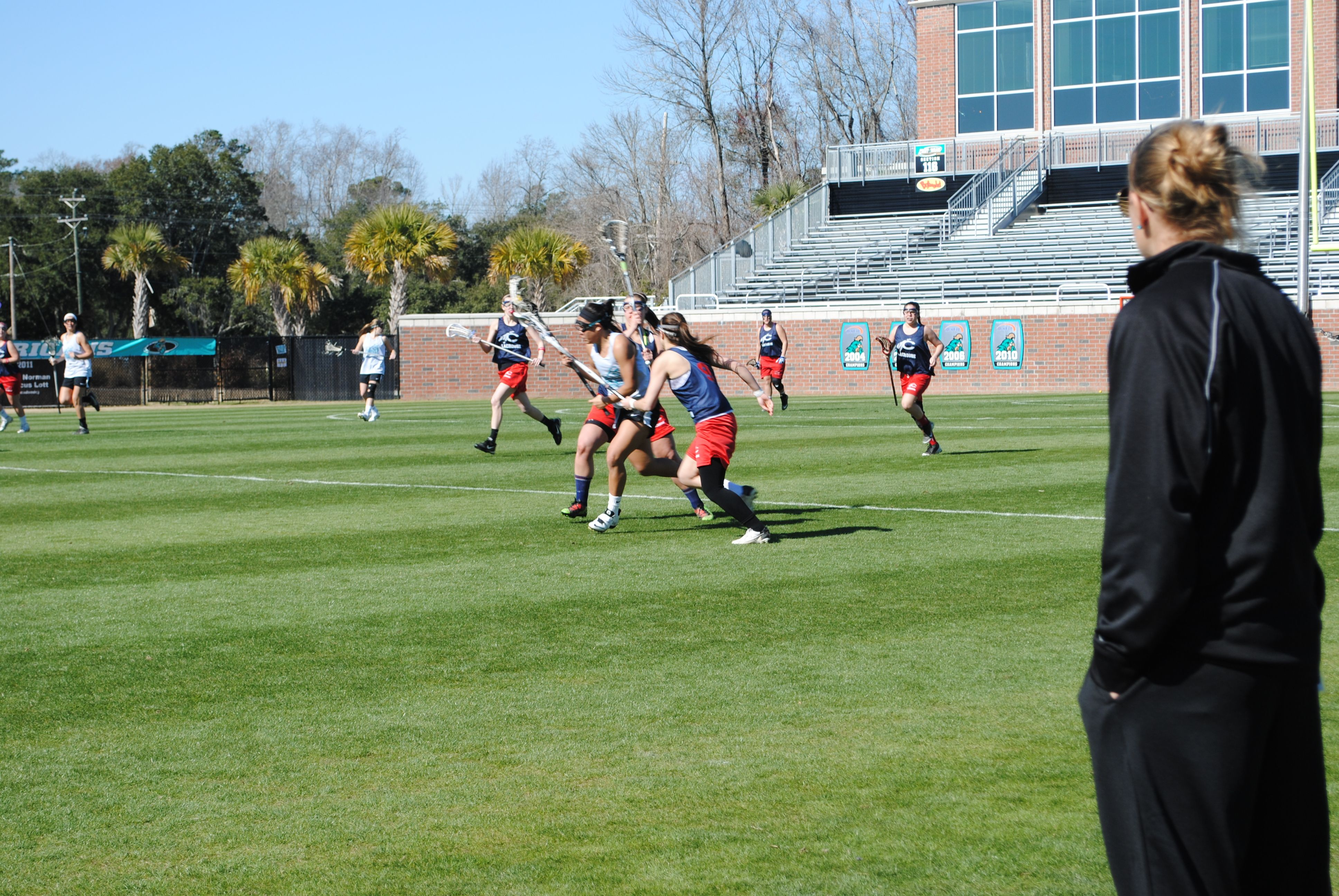 Coastal came out with the W! Womens lacrosse, Soccer