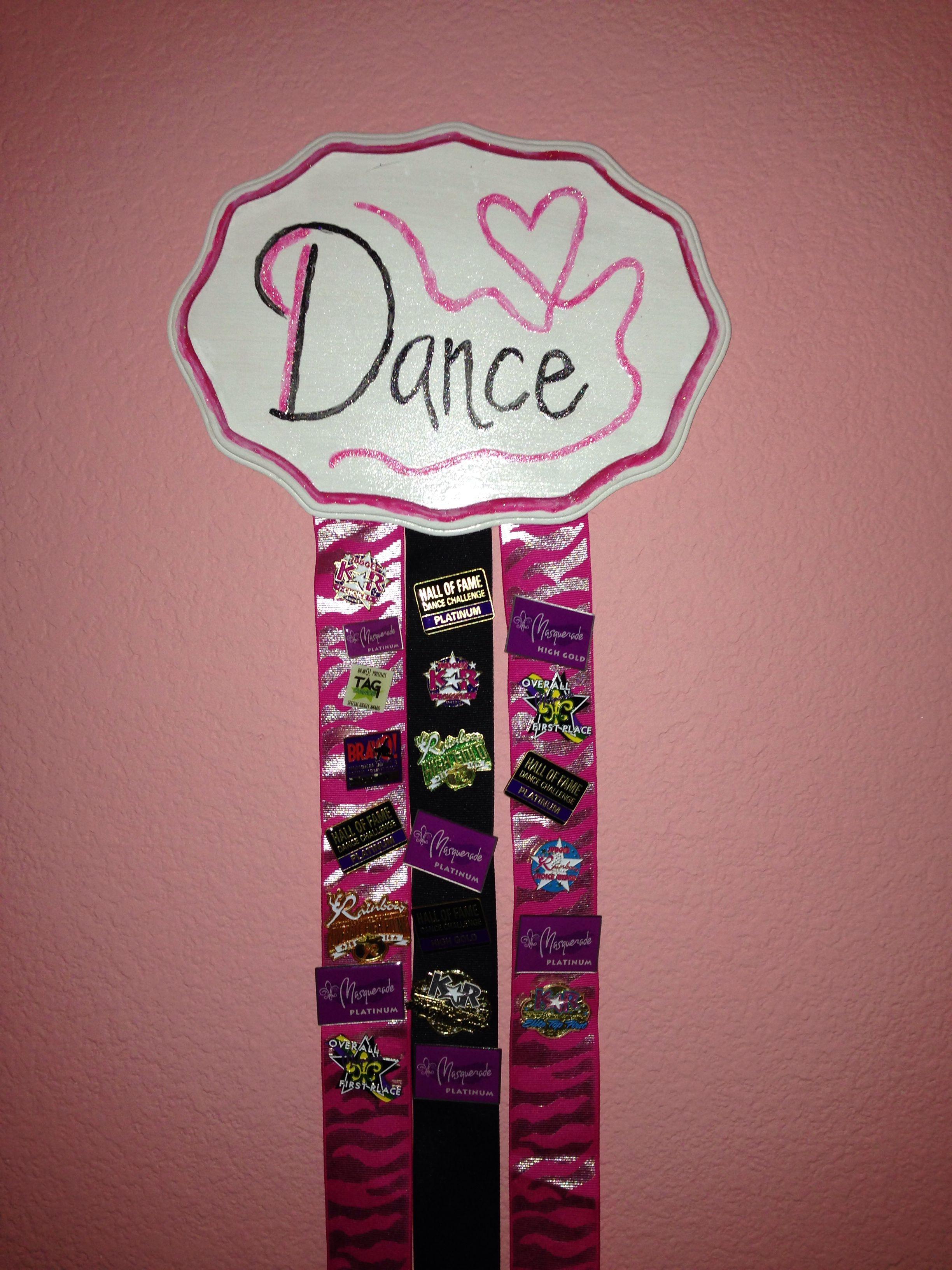Dance pin holder   Artsy Craftsy in 2019   Dance crafts