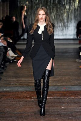 The Fashionista's Blackbook: New York Fashion Week Altuzarra Fall/Winter 2012-2013 RTW Collection