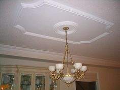 Decorative Ceiling From Molding