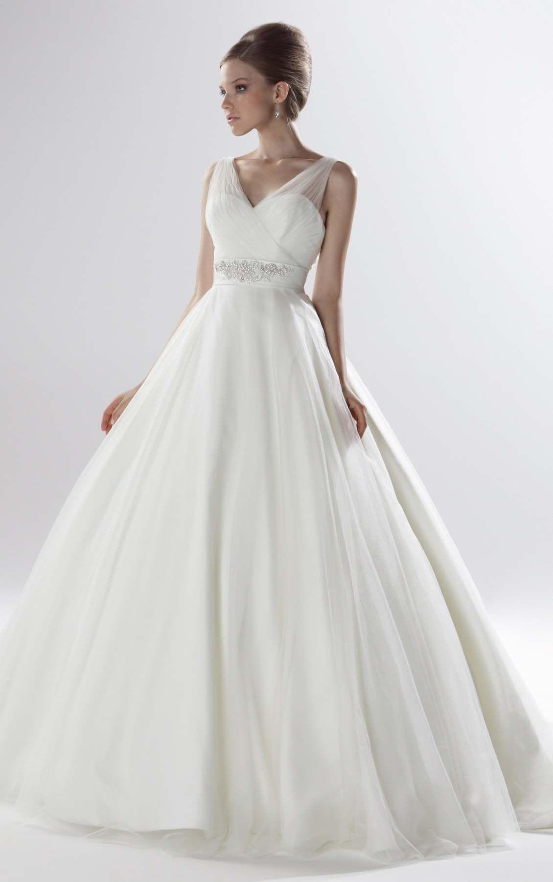 Beautiful Ball Gown Floor-length Wedding Dresses #Elegant #Cute ...