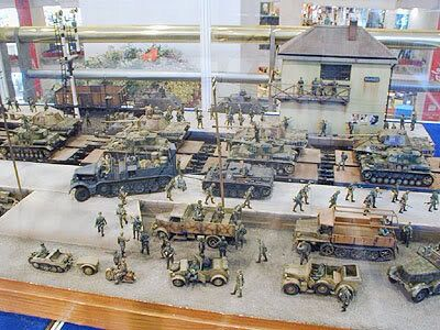 Banhoff diorama, 1/35 scale by ademodelart | Model Railroad