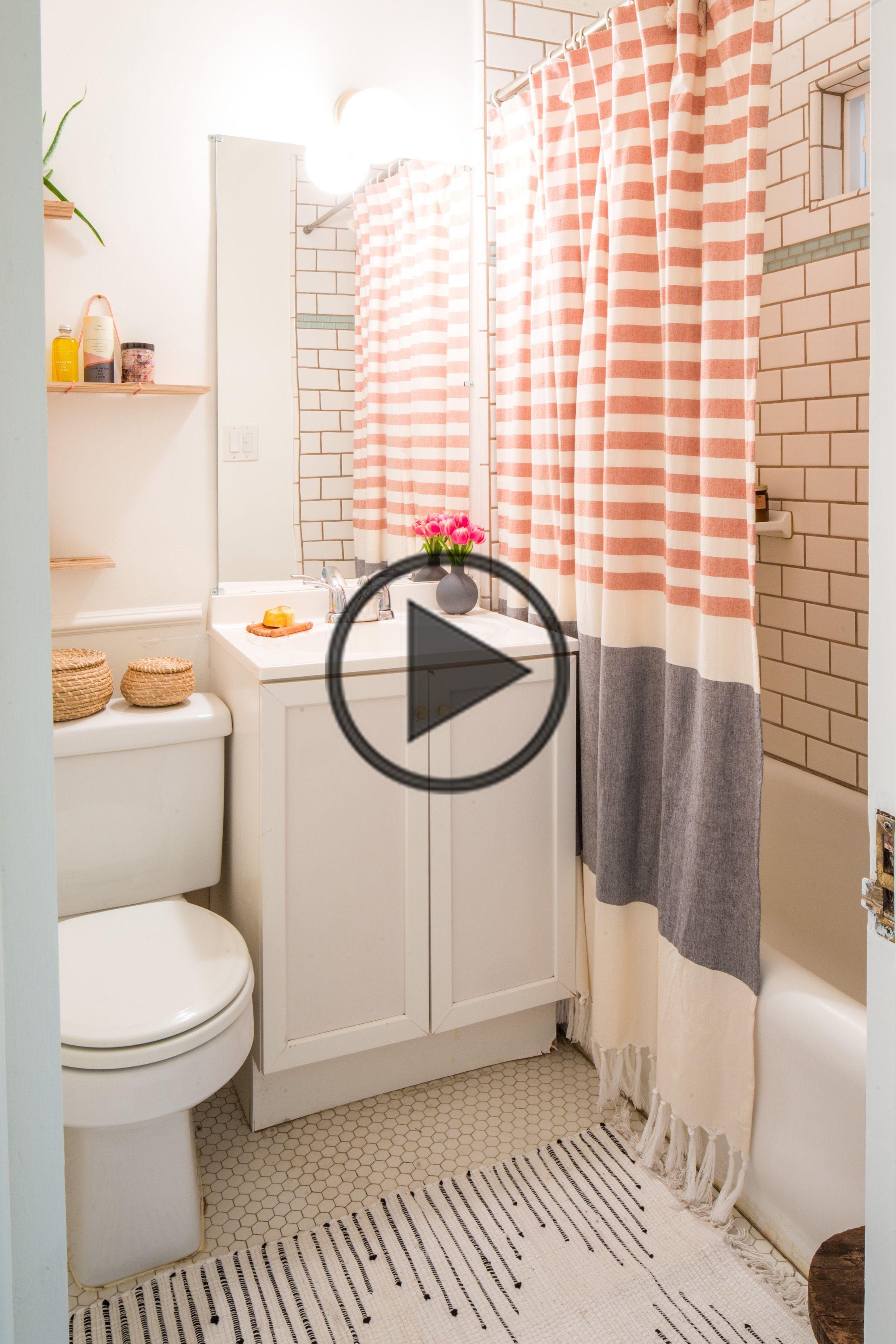 25 Genius Design Storage Ideas For Your Small Bathroom In 2020 Bathroom Design Small Color Bathroom Design Bathroom Shower Curtains