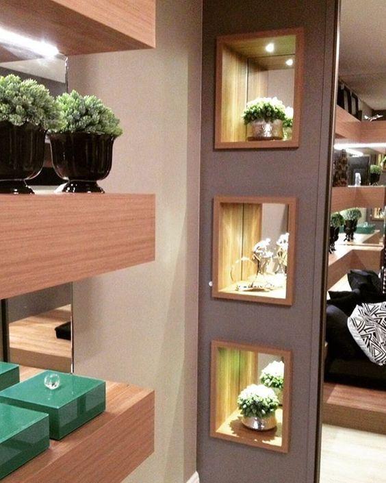 Nichos luminosos para decorar tu casa tendencias 2017 for Decorar casa con muebles wengue