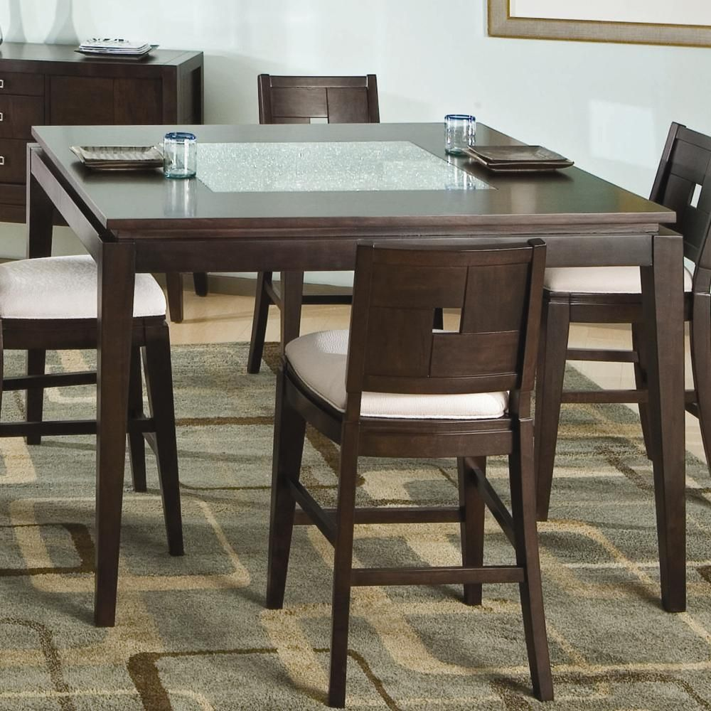 Spiga Counter Height Table By Najarian At HomeWorld Furniture FurnitureDining Room