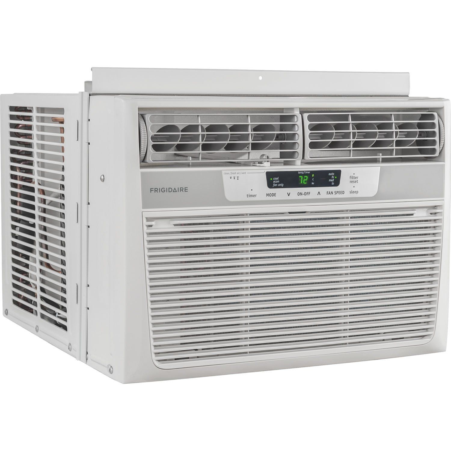 Frigidaire Ffra1222r1 12000 Btu 115volt Windowmounted Compact Air Conditioner To Best Window Air Conditioner Window Air Conditioner Compact Air Conditioner