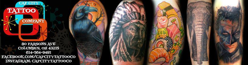 Cap city tattoo co city tattoo tattoos tattoo shop