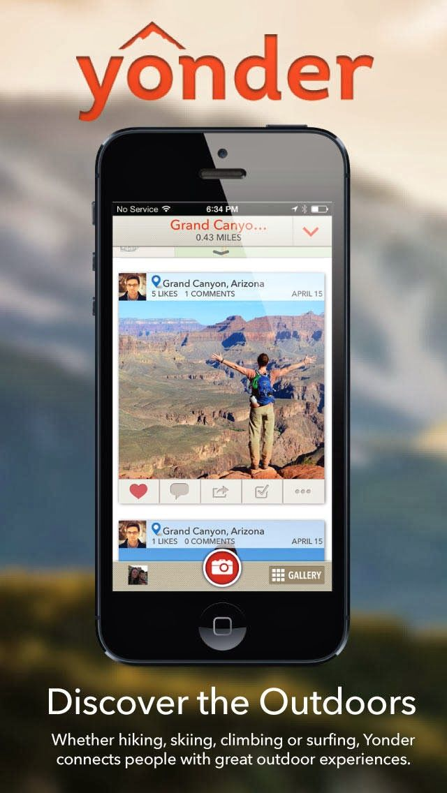 Discover and Share Your Best Outdoor Experiences with the ... |Yonder App