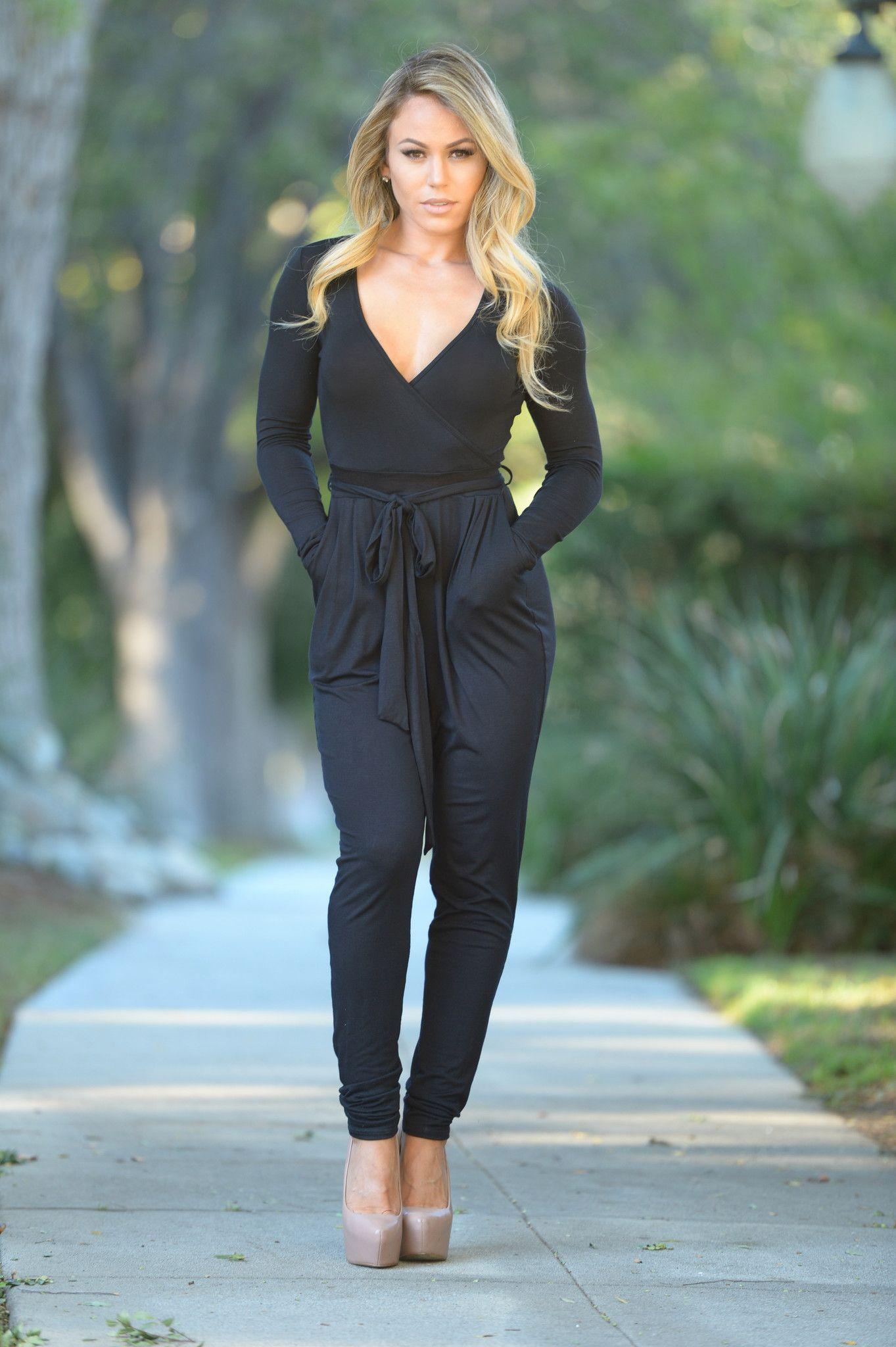 Noelle Jumpsuit - Black
