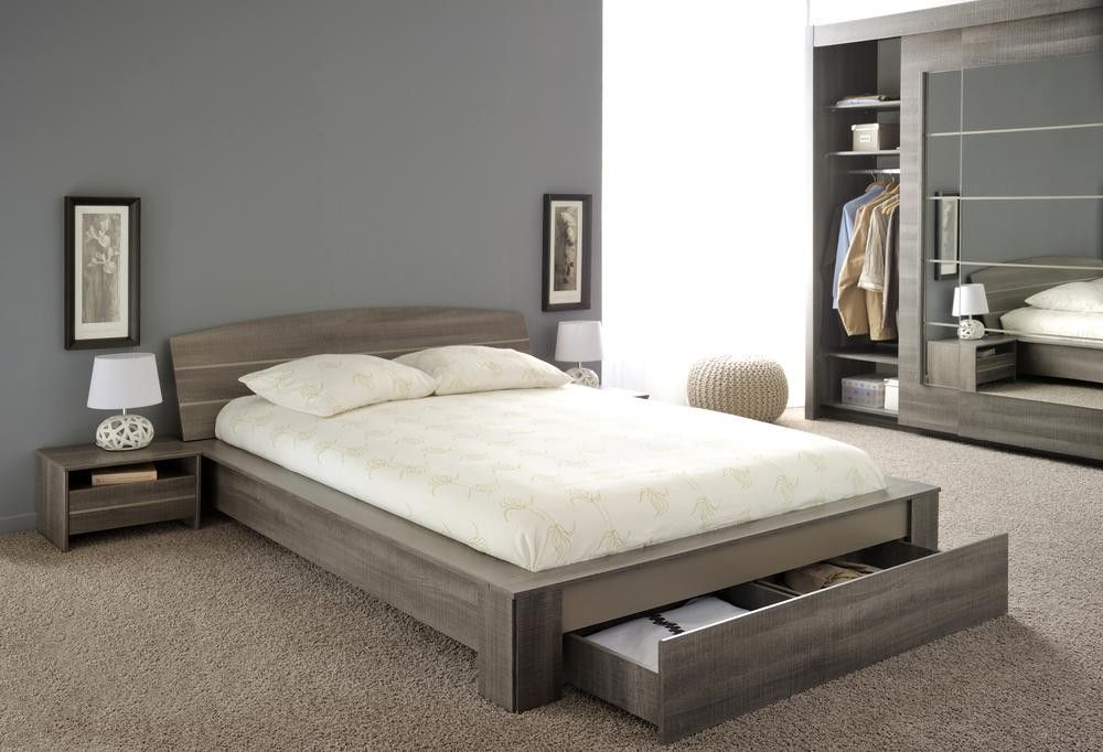 Bett mit Schublade Split 160x200 | Bett mit schubladen, Schubladen ...