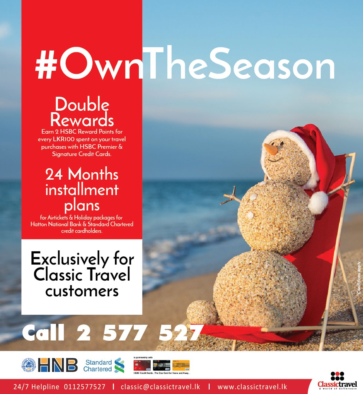 OwnTheSeason Exclusively for Classic Customers ! Double Rewards from