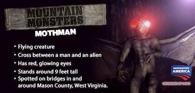 Mothman is one of the most legendary creatures of all  Watch