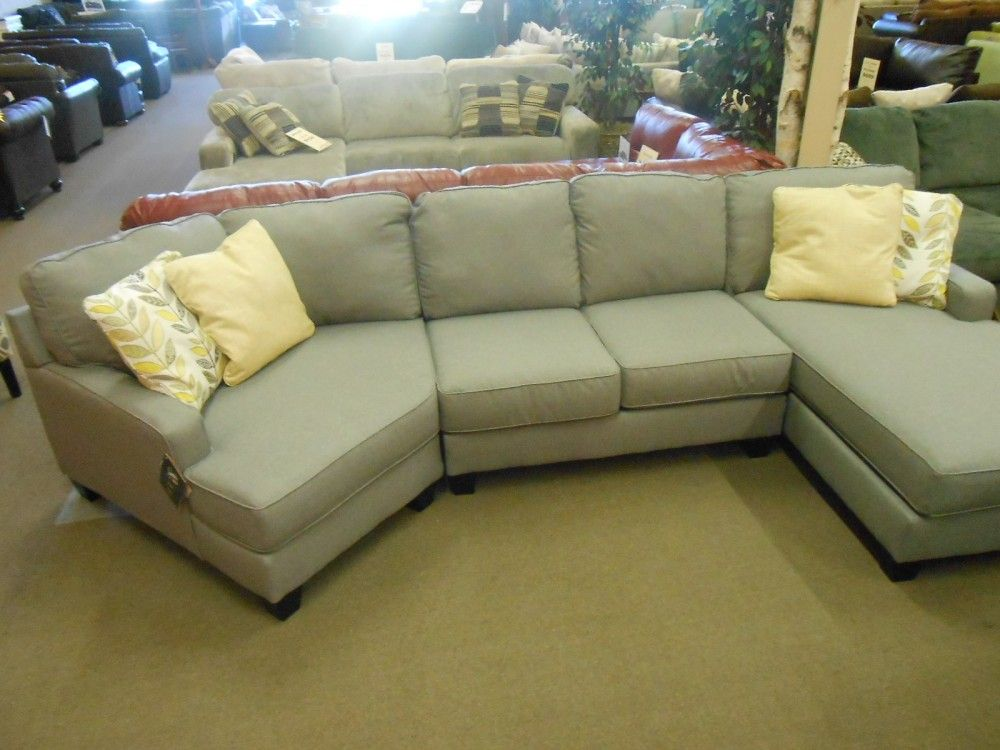 Best Buttercup Sectional With Chaise Cuddler Living Room 400 x 300