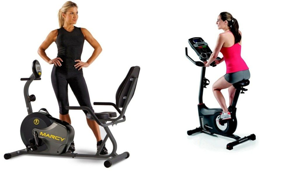 Recumbent Vs Upright Exercise Bikes Pros Cons Infographic With