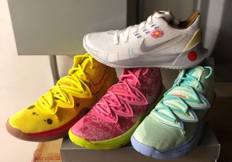 Release information for Nike Kyrie 5 SpongeBob SquarePants