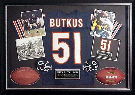 0a5089585 Large Autographed Shadow Box  Mounted Memories cheap from Sportsblink