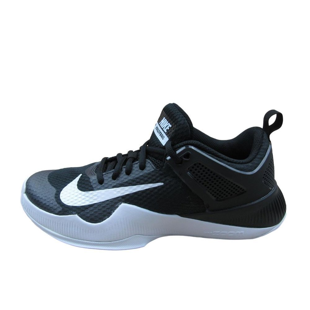 Nike Air Zoom Hyperace Size 7 Volleyball Shoes Womens 902367 001 Black New Nike Volleyballshoes All Black Sneakers Sneakers Womens Clothing Brands
