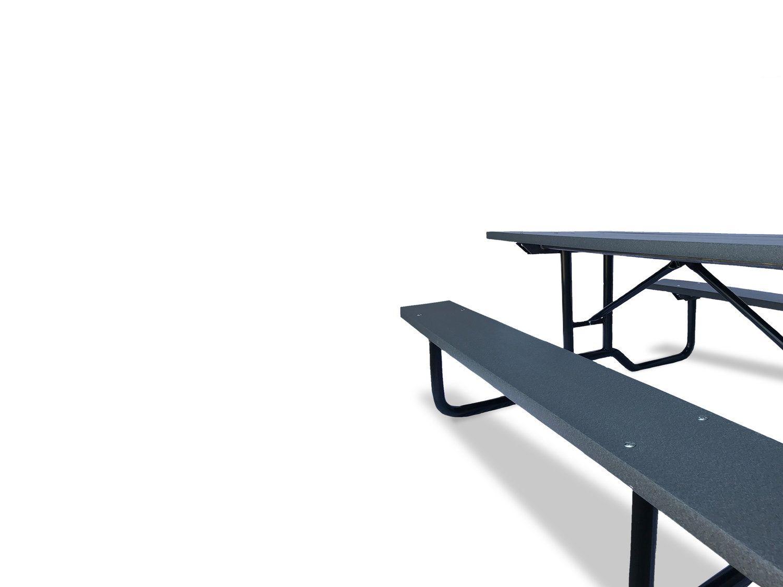 Miraculous 6 Steel Frame Picnic Table Picnic Tables Advantage Machost Co Dining Chair Design Ideas Machostcouk