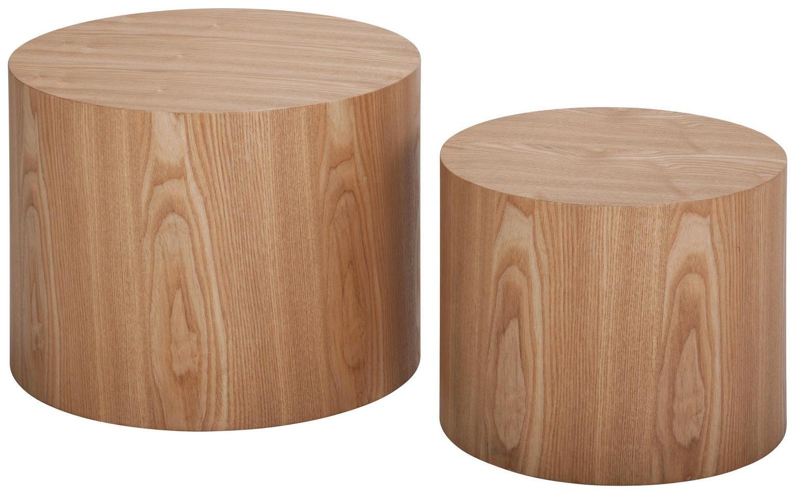 Runde Beistelltische Aus Massivem Holz Beistelltisch Holz Couchtisch Holz Couchtisch Rund