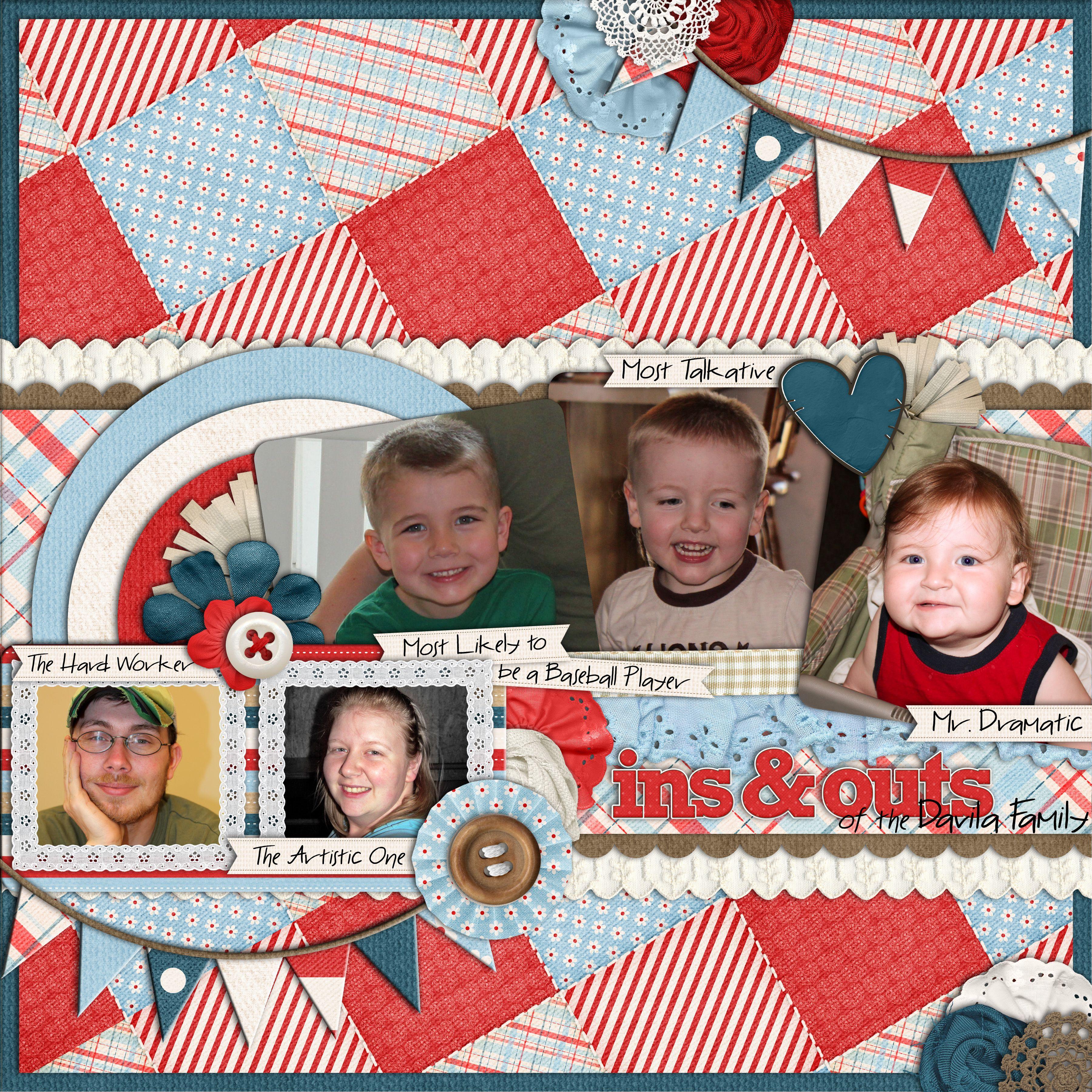 -Country Cuties by Kristin Cronin-Barrow & Lliella Designs  -Set 125; Template 4 by Cindy Schneider