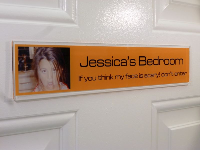 funny door sign jessica make a funny door sign for your