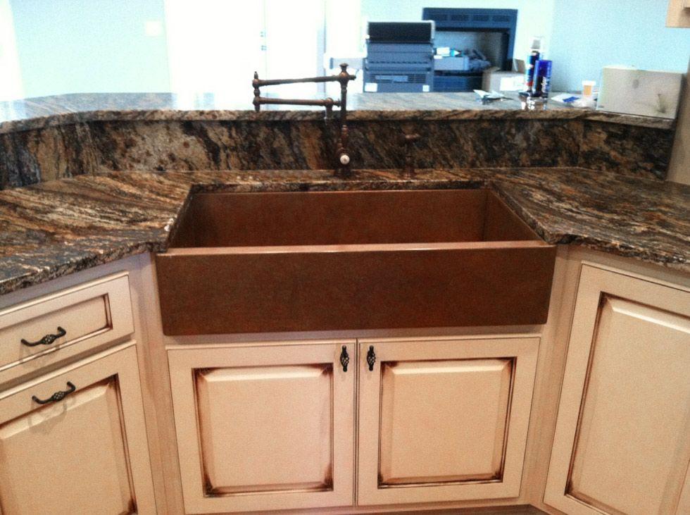 Copper Granite Countertops