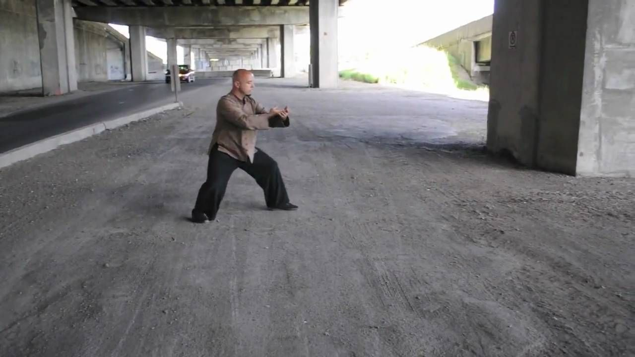 Traditional Yang Style Tai Chi Chuan 49 Demonstration Form. Performed by Marco Gagnon in Montreal, Quebec, Canada.