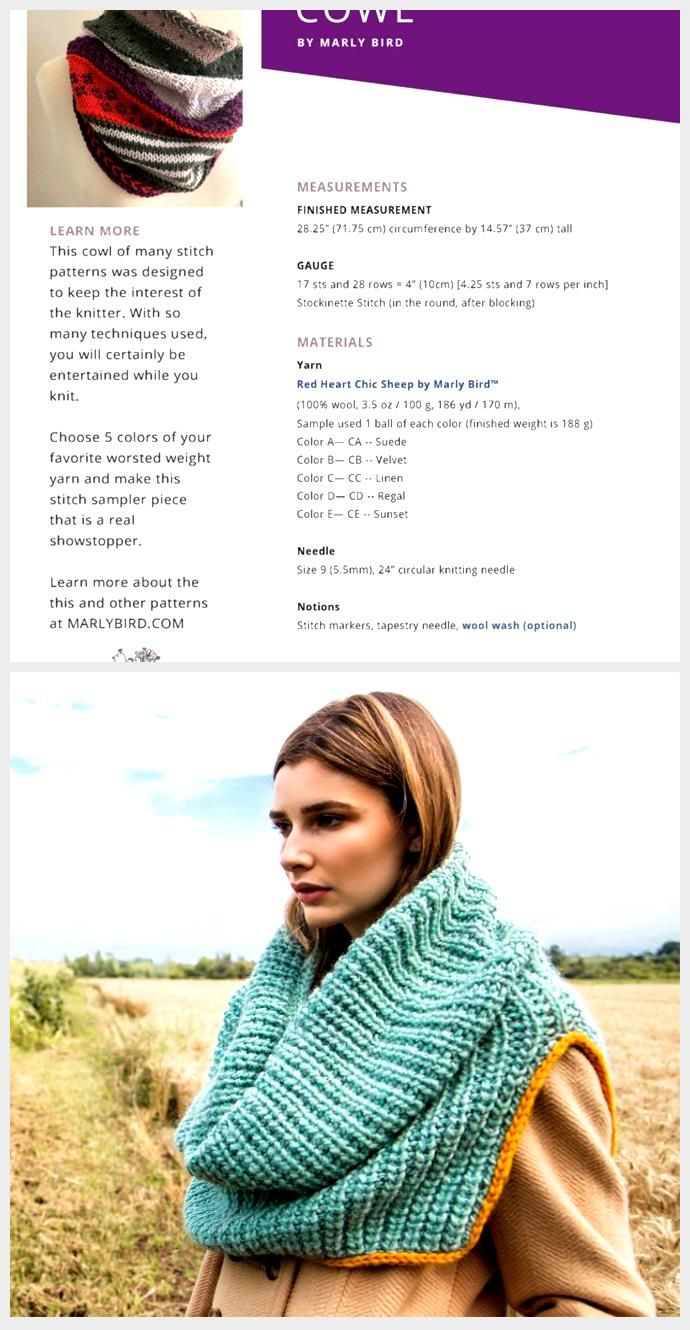 Game Changer Cowl || Free Colorwork Knit Pattern - Marly Bird™,  #Bird #Changer #Colorwork #Cowl #free #Game #Knit #Marly #Pattern