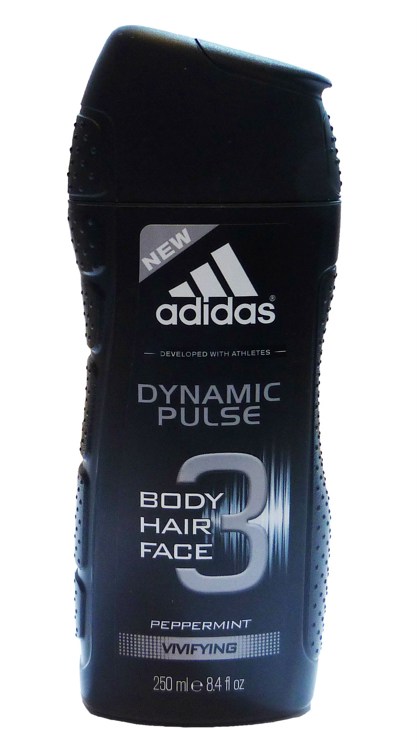 Adidas Dynamic Pulse For Men By Coty Hair Body Face Wash 84 Oz