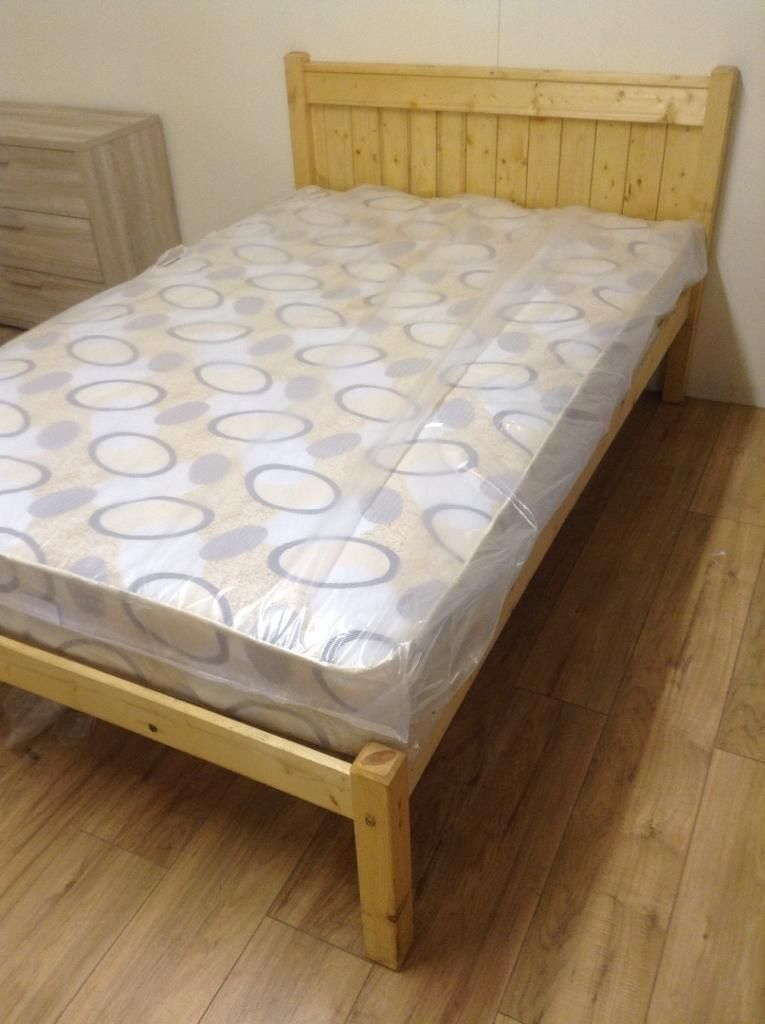 This Is The Bed That S Being Delivered Pine Beds Bed Mattress