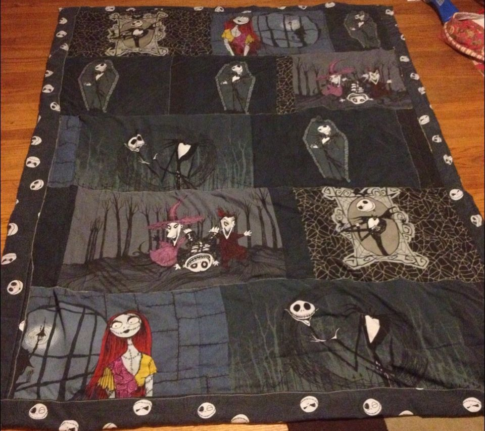 Nightmare before Christmas! | Sew-sewing | Pinterest | HALLOWEEN ... : nightmare before christmas quilt - Adamdwight.com