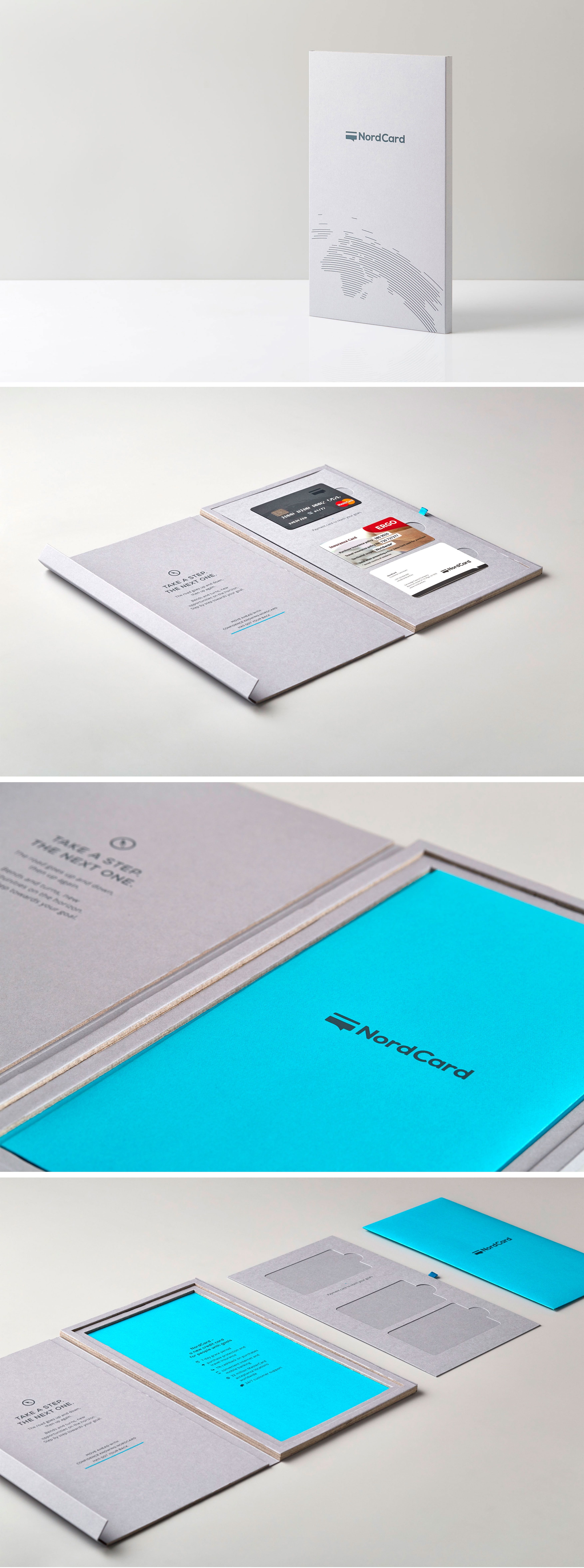 Direct mail packaging design for nordcard credit card for people business cards magicingreecefo Gallery