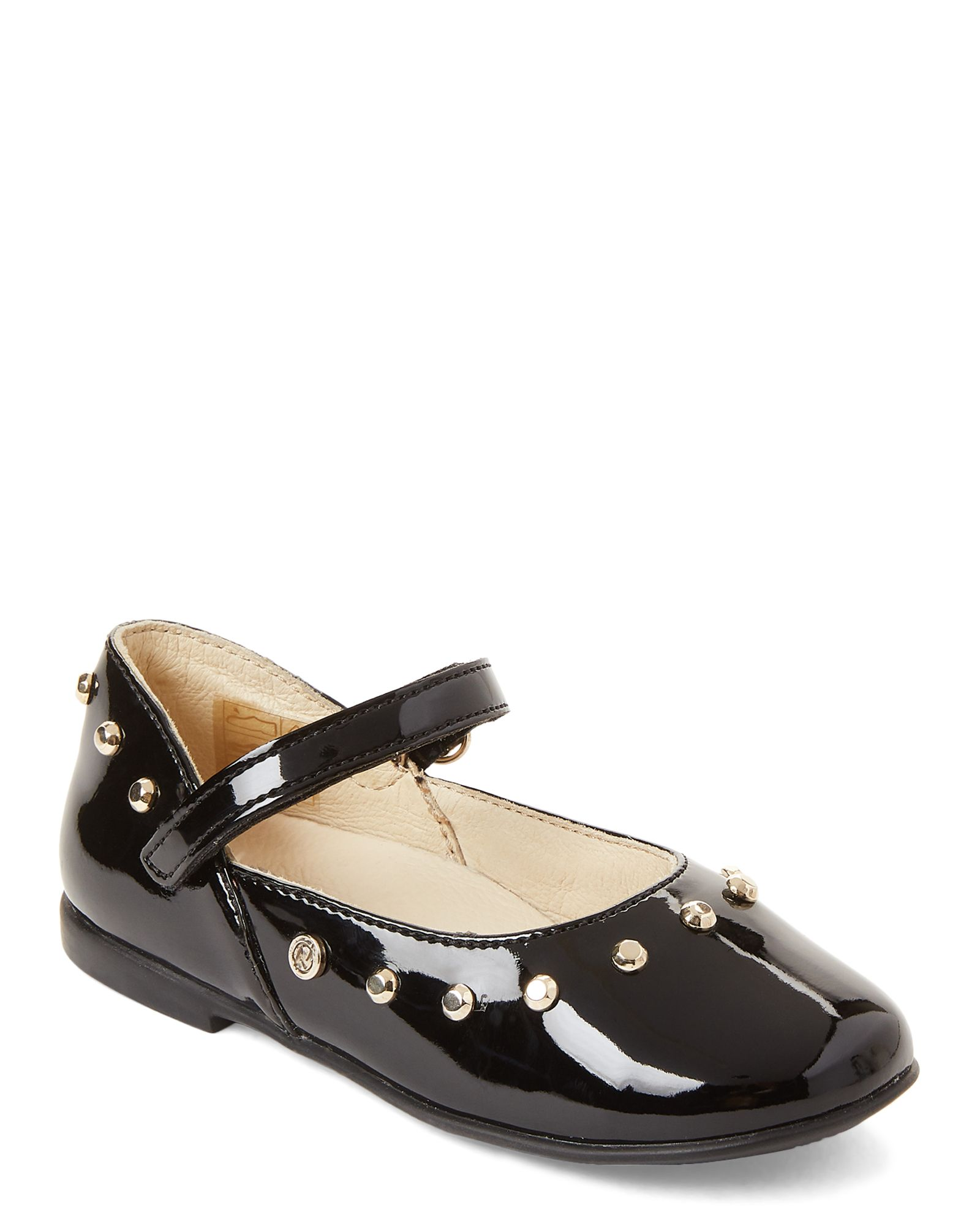 wholesale sales differently size 40 Naturino Toddler/Kids Girls) Black Studded Mary Jane Flats ...