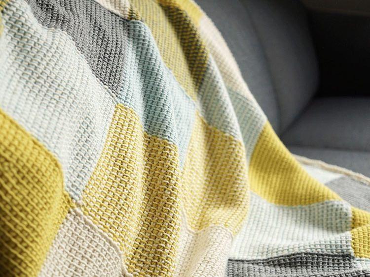 diy anleitung patchwork babydecke tunesisch h keln via h keln pinterest. Black Bedroom Furniture Sets. Home Design Ideas
