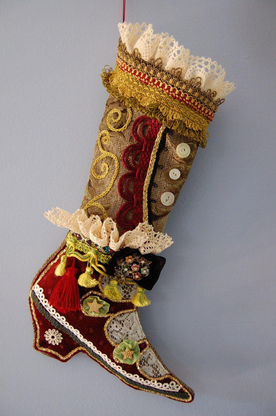 bohemian gypsy handbags | Bohemian Gypsy Christmas Stocking by ...