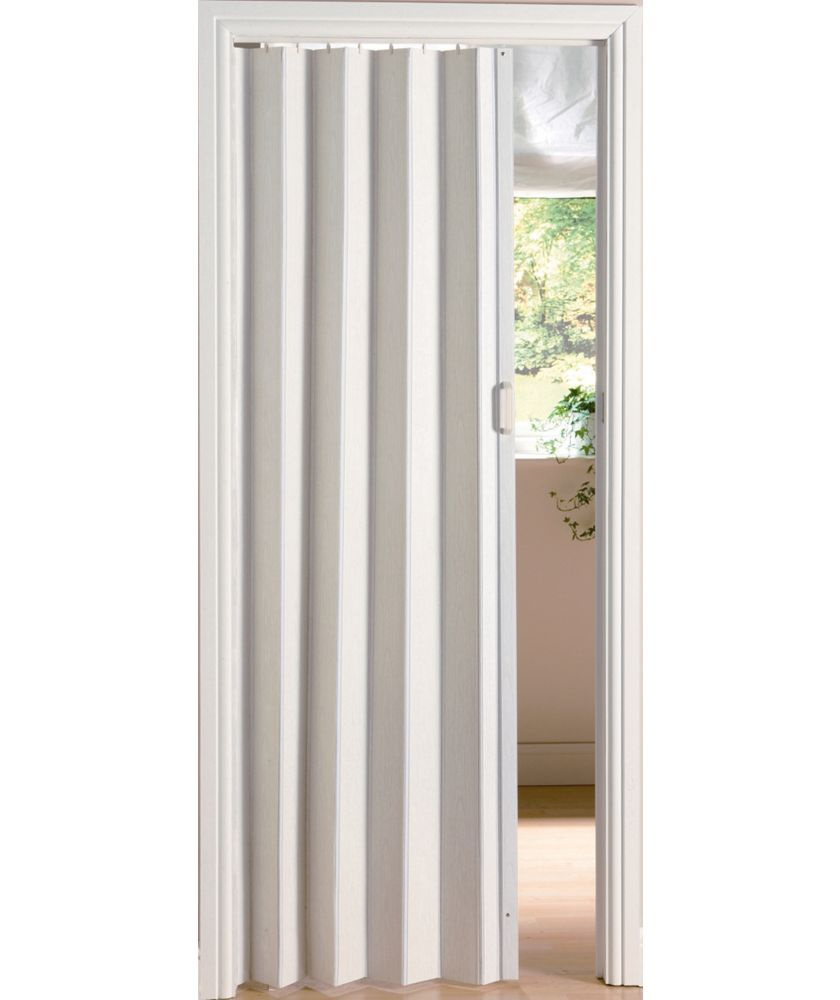 Concertina Bathroom Doors Uk buy white oak effect folding door at argos.co.uk - your online