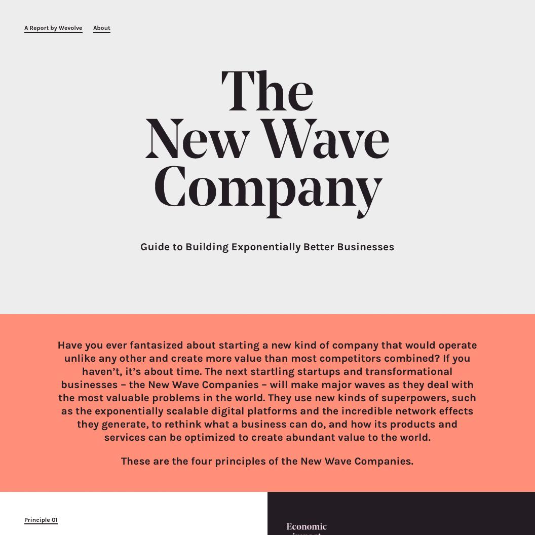 Fonts Used: Noe Display, Karla #Typewolf Typography