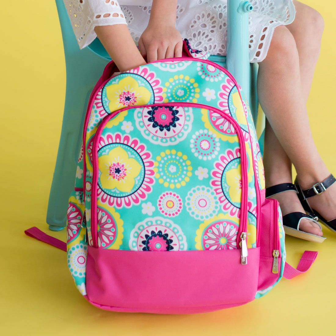 Sporty Girl Apparel - Fun and colorful  kids School backpack, $28.95 (http://www.sportygirlapparel.com/fun-and-colorful-kids-school-backpack/)