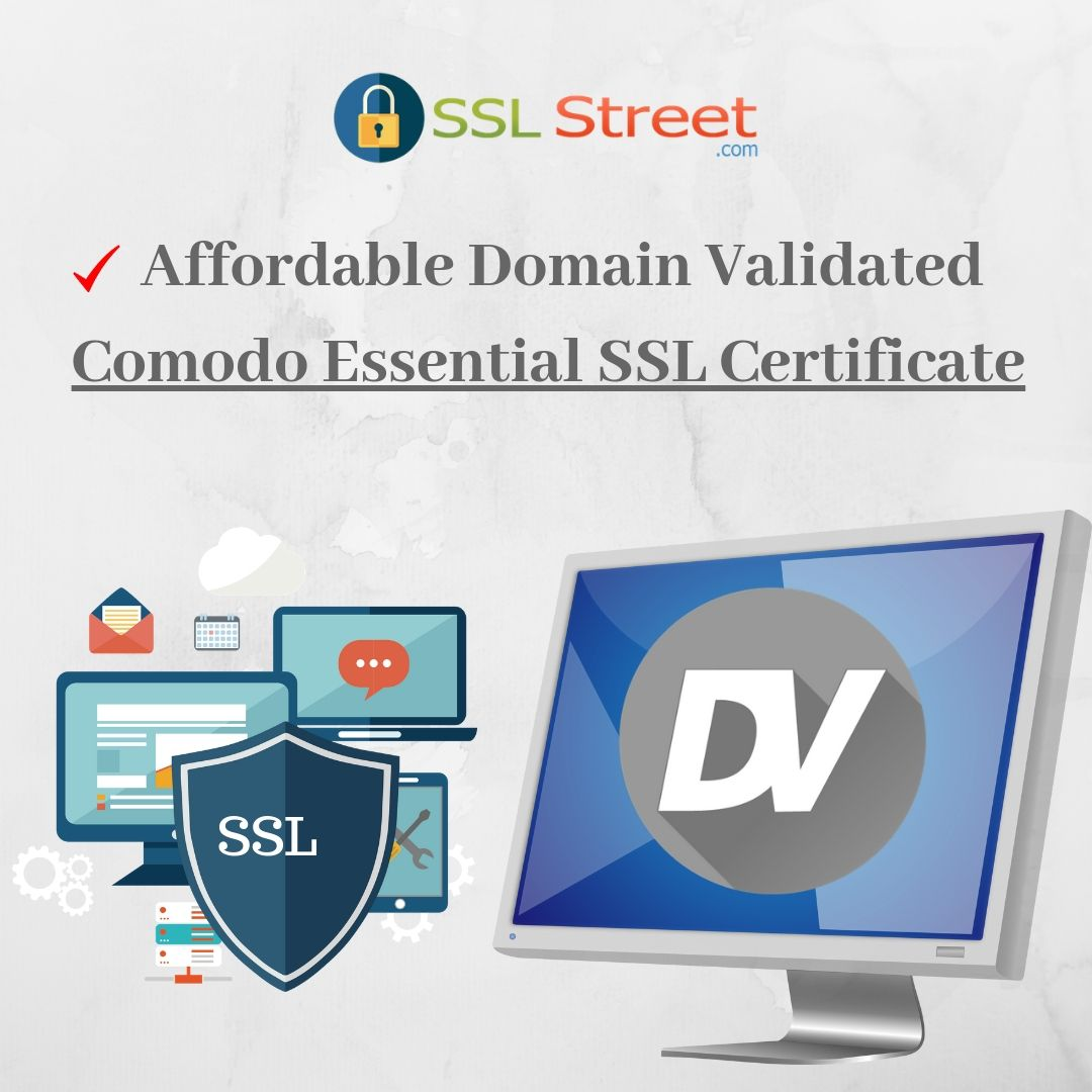 Ssl Essential Certificates Is Affordable Domain Validated Dv