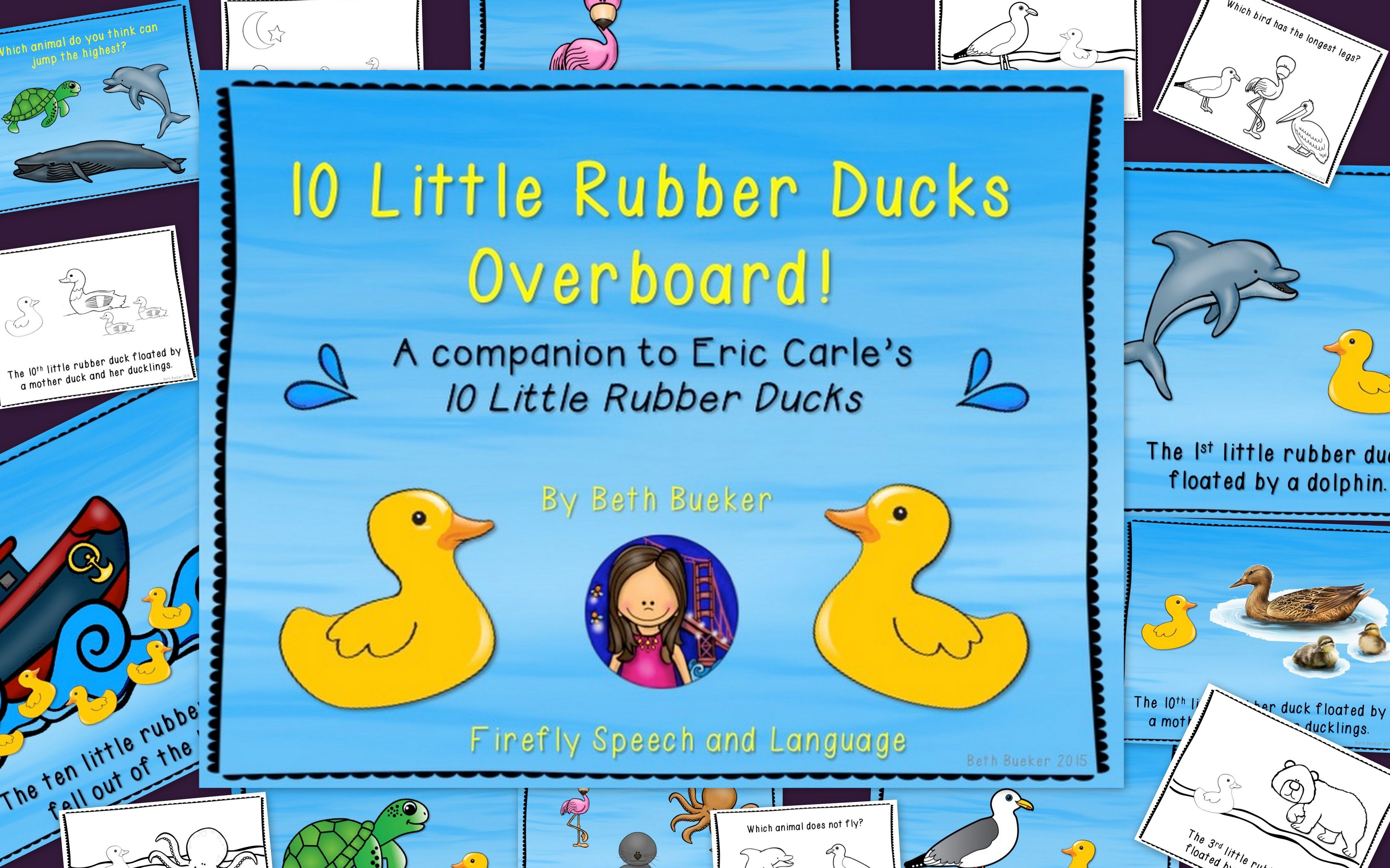 10 Little Rubber Ducks Overboard