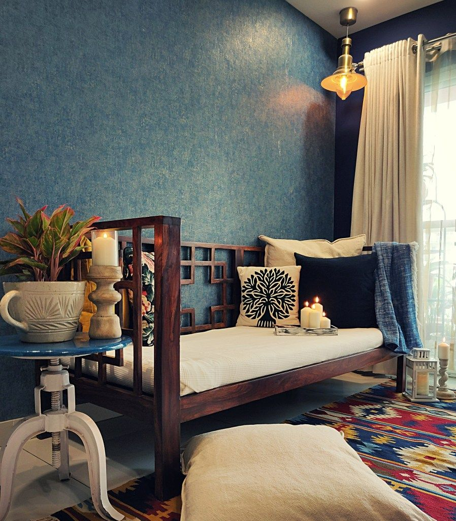 Home Style Tour With Rajni In Hyderabad : The Room Is
