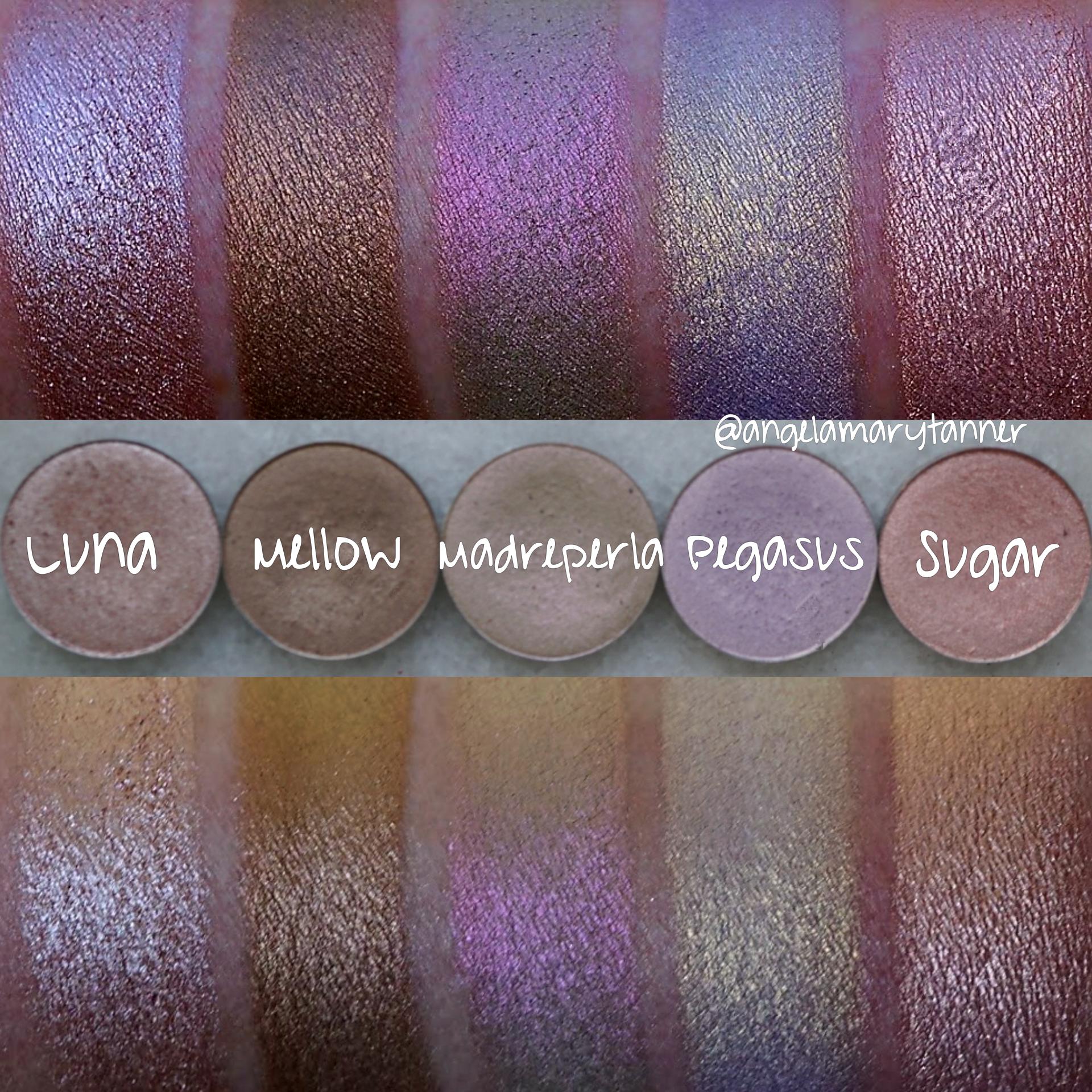 Nabla Cosmetics Eyeshadow Swatches Makeup Pinterest Eyeshadow