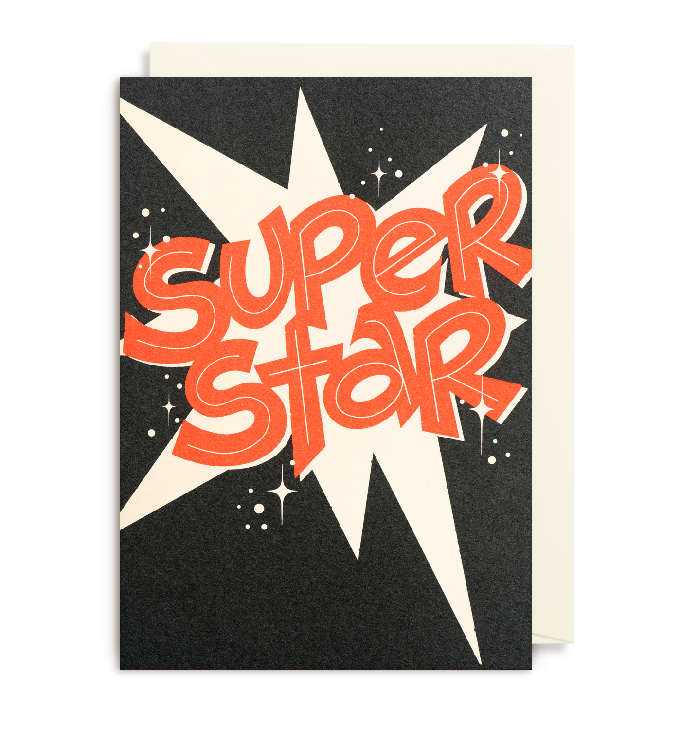 Super star greeting card envelopes cards and note super star greeting card kristyandbryce Images