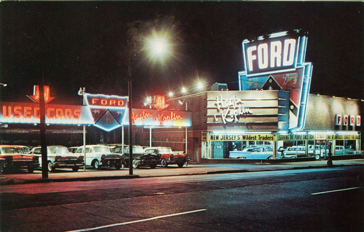 Hagin u0026 Koplin Ford dealership - Newark NJ 1950s & Hagin u0026 Koplin Ford dealership - Newark NJ 1950s | Cars Cars ... markmcfarlin.com
