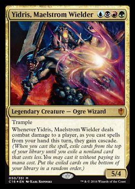 Yidris, Maelstrom Wielder | Commander 2016 Visual Spoiler