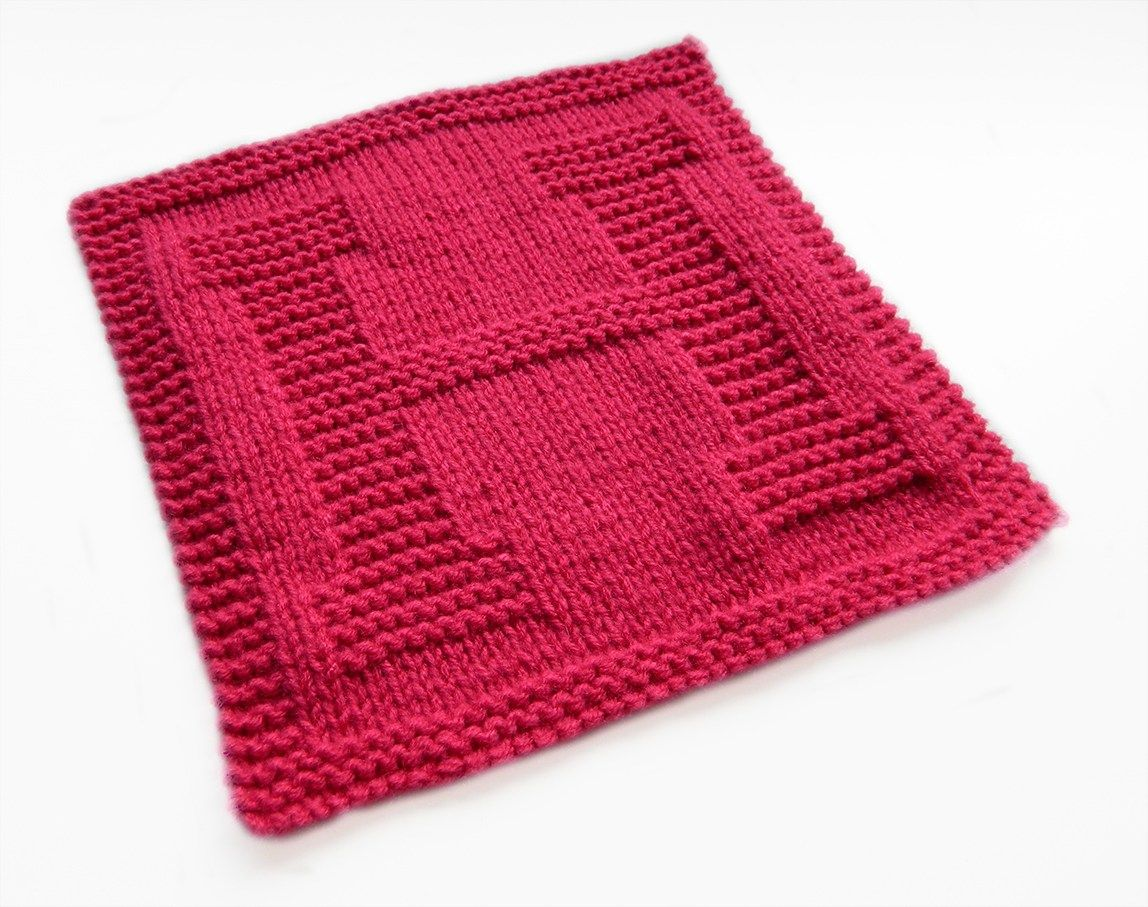 H dishcloth pattern alphabet dishcloth knitting pattern ...