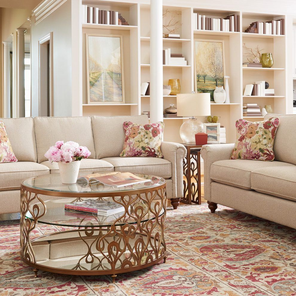 homebase small coffee living room traditional with nesting tables